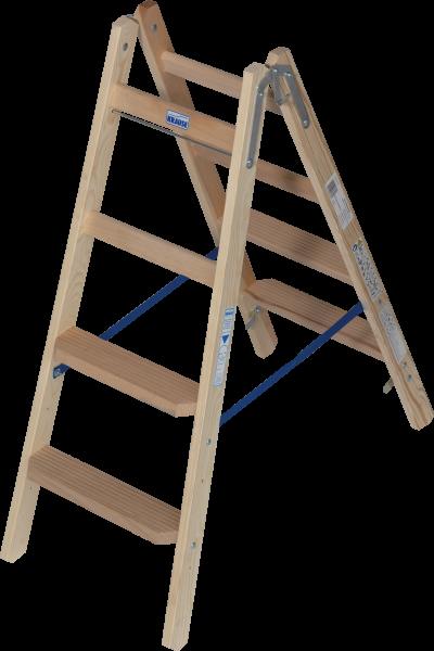 2 x 4 Stufen/Sprossen