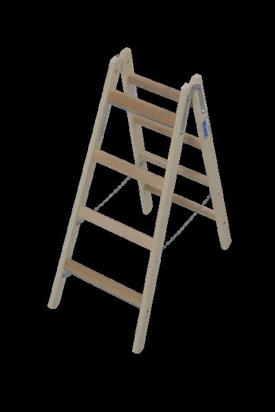 Krause STABILO Holzsprossenleiter Doppelleiter