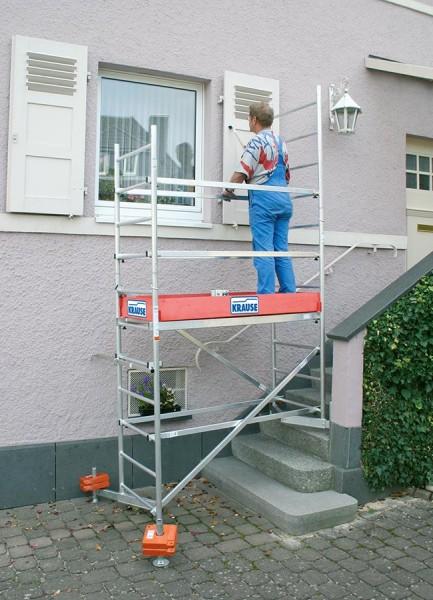 Krause Erweiterung von 5 auf 6 m Arbeitshöhe für ClimTec Arbeitsgerüst
