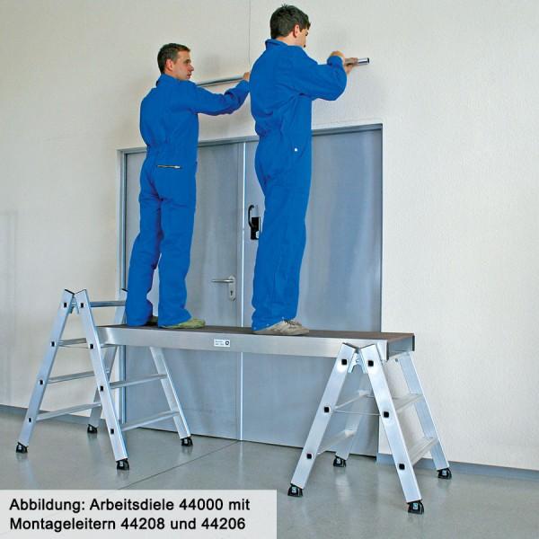 Günzburger Aluminium-Arbeitsdiele