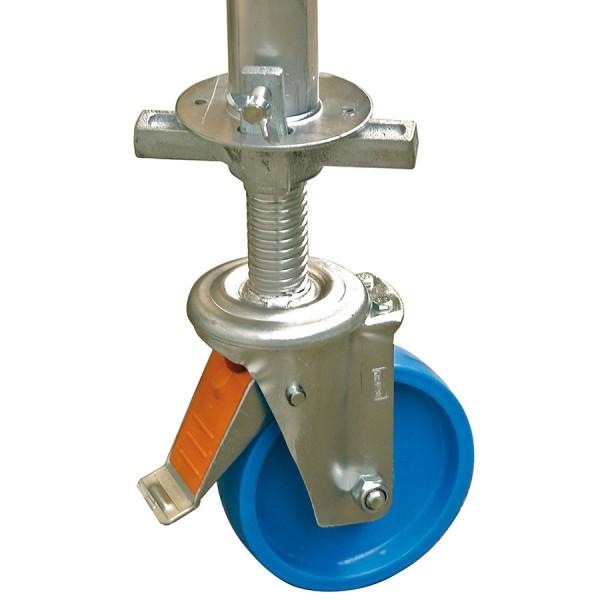 Krause Fahrrollensatz Durchmesser 150 mm, höhenverstellbar