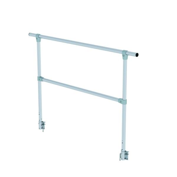 steckbares Geländer für Arbeitsplattform