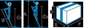 Piktogramm_Anlegeleiter_zweiteilig