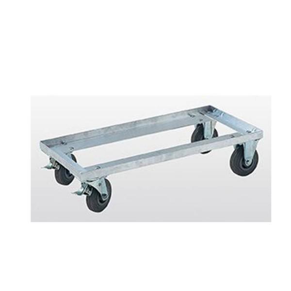 Günzburger Aluminium-Untersetzwagen für Transportkisten