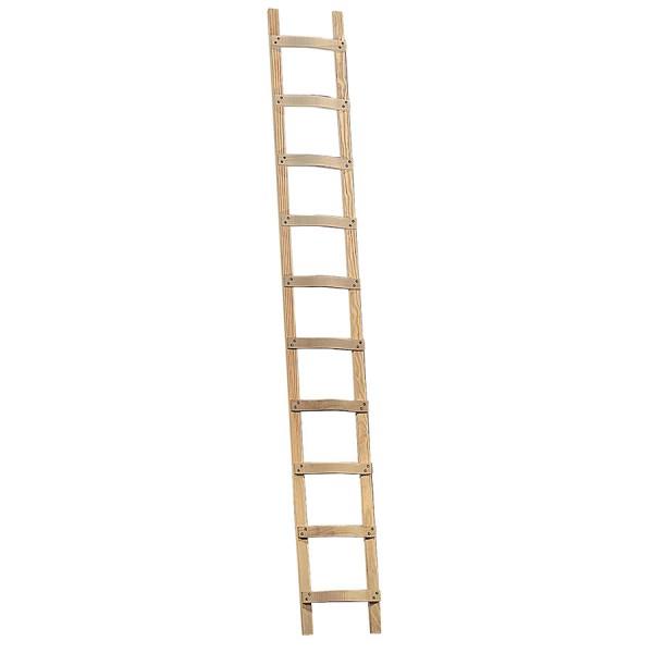 Layher 1046 Holzleiter Dachdeckerleiter