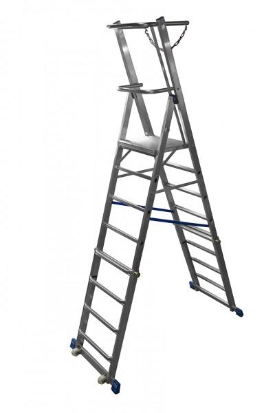 Krause STABILO Teleskop-Plattformleiter, klappbar - Produktneuheit