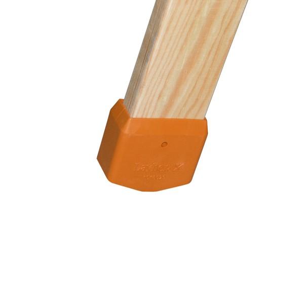 Layher Leiternschuhe für Holzleiter