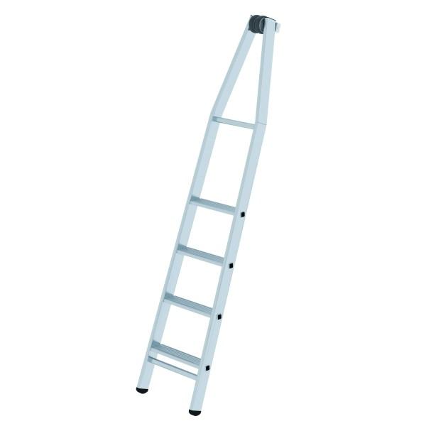 Stufen-Glasreinigerleiter 4-stufiges Oberteil 12025