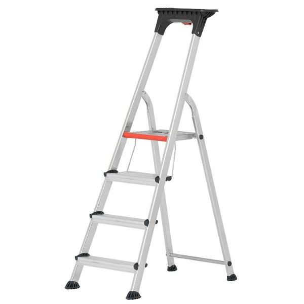 Hymer ALU-PRO Stufenstehleiter mit Doppelstufe