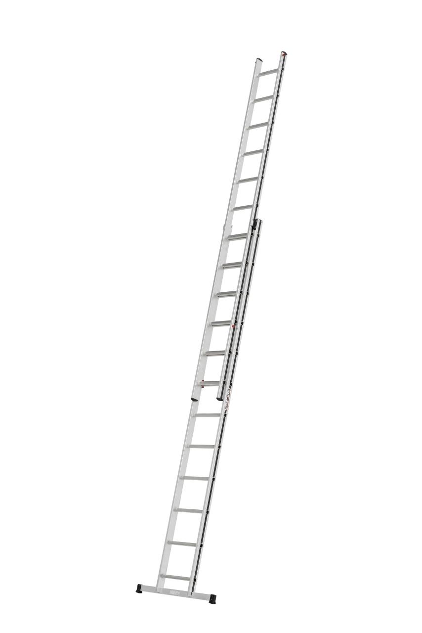 HYMER ALU-PRO 7004616 Schiebeleiter zweiteilig 2x8 Sprossen
