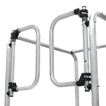 Hymer Rückenschutztüre, selbstschließend für Podesttreppen 6888+6889