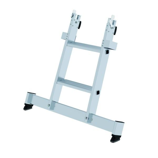Stufen-Glasreinigerleiter 2-stufiges Unterteil 12024