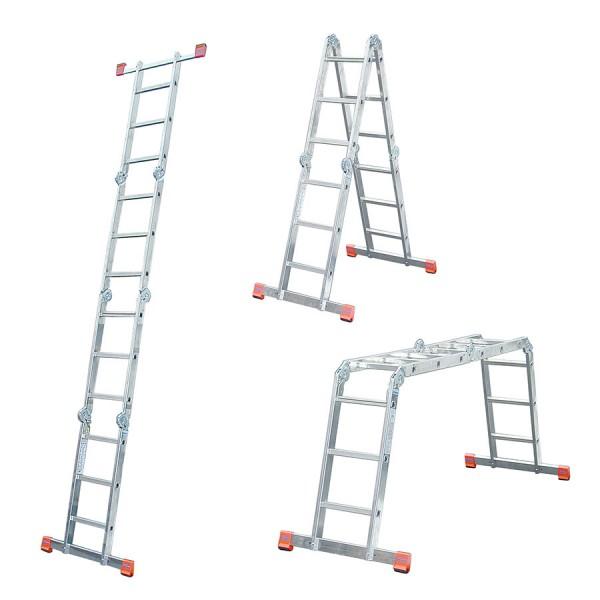 Krause MultiMatic Sprossen Gelenk-Universalleiter + Multiboard kostenlos