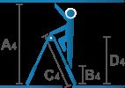 Piktogramm_Gelenk-Teleskopleiter_ABCD_1