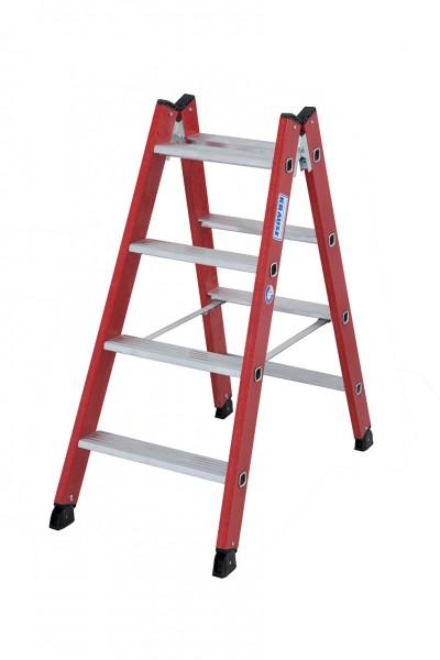 Krause Kunststoff-Stufen-DoppelLeiter