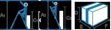 Piktogramm_Gelenk-Teleskopleiter