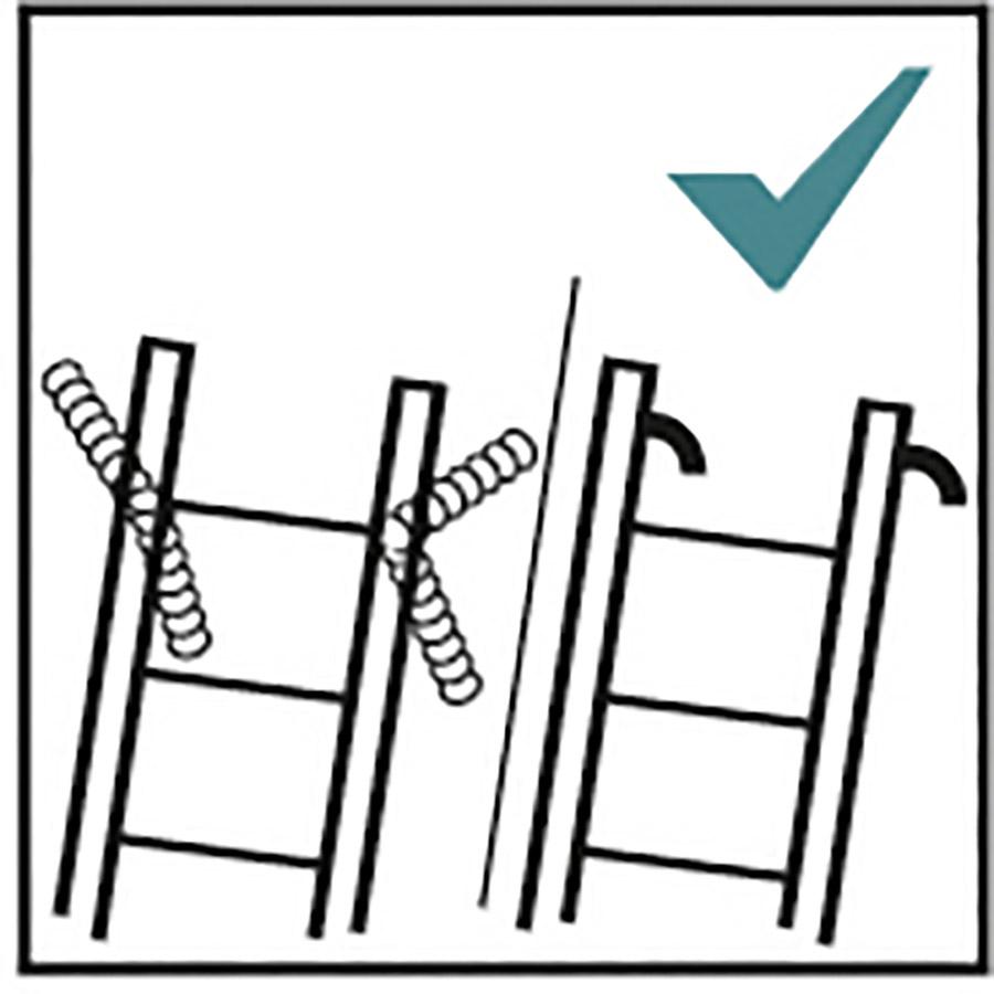 Hinweis Leitern