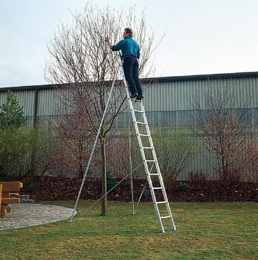 Günzburger Obstbaumstützen für Anlegeleiter und Schiebeleiter