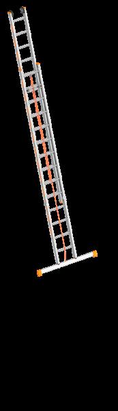 Layher TOPIC 1037 Seilzugleiter mit Traverse