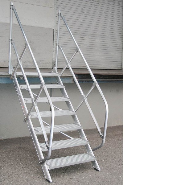 Aluminium-Treppe 45° Günzburger Steigtechnik