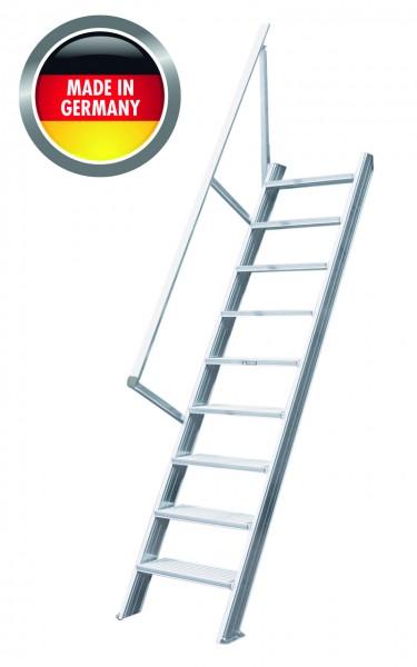 Hymer Treppenleiter stationär ohne Podest, 60°