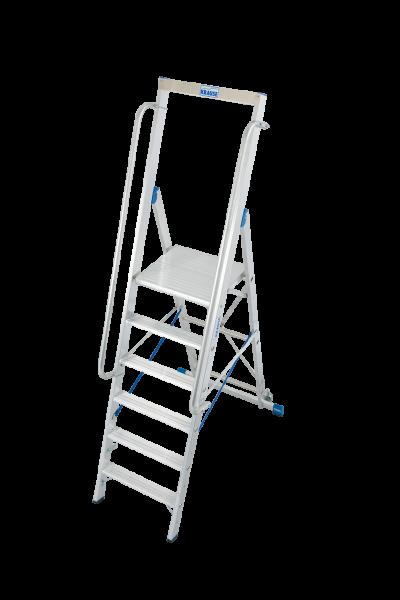 Krause STABILO Stufen-Stehleiter mit großer Standplattform