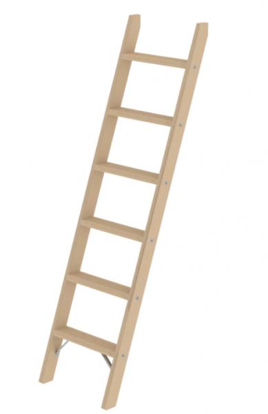 6 Stufen ohne Traverse