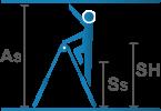 Piktogramm_Gelenk-Teleskopleiter_Stehleiter