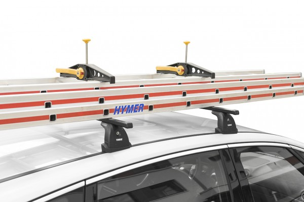 Hymer Leiterhalterset für Dachträger